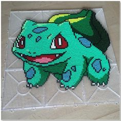 Bulbasaur - Pokemon perler beads by brevtilkaren