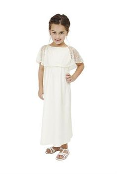 """Babes of the Nile   Lovely in lace in the """"Rose"""" bohemian flower girl dress!"""