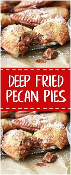 DEEP FRIED PECAN PIES #deep #fried #pecan #pies #homecooking #cooking #cookingtips