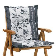 Nice  Luxus Auflagen f r Sessel niedrig Stuhl Niederlehner Klappstuhl in grau gebl mt