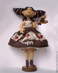 Шоколадница повтор Коллекционная кукла
