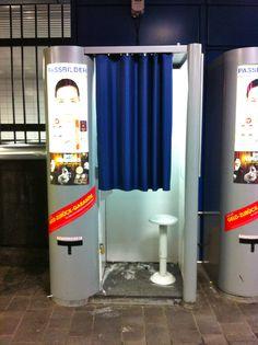 Automaten-Kultur: Foto-Automat