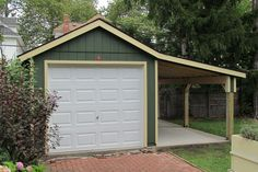 Within the previous ten years that unfavorable view of the garage has altered drastically. Climatizing the garage has actually ended up being a lot more than an afterthought. Garage House, Carport Garage, Garage Doors, Garage Workbench, Carport Plans, Garage Signs, Garage Cabinets, Dream Garage, Bungalow
