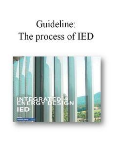 Guida alla progettazione energetica integrata.