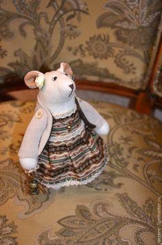 Купить Мышка - мышка, мышь, мышонок, игрушка, белый, мышка т, мышка в, мышка о