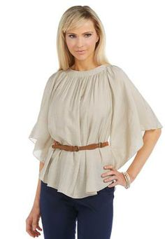 Cato Fashions Belted Poncho Top-Plus #CatoFashions #Catosummerstyle. Minus the belt for me!!!!!!