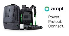 Backpack that power and protect your gadgets on-the-go. Control  charging from the App without opening a zipper.