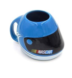Nascar Racing Helmet Coffee Mug Cup Blue Sherwood 2003 Man Cave Decor Bar 22 oz Racing Helmets, Nascar Racing, Man Cave Must Haves, Best Coffee Mugs, Mugs For Men, Mug Cup, Madness, Soda, Barware
