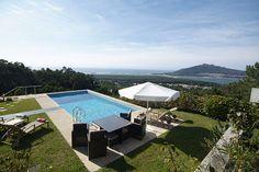 North Portugal Minho Region Luxury Holiday Villa Pool Sea Views