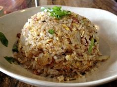Bacon Fried Rice from Pao Town in Coral Gables.