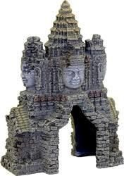 Exotic Environments Angkor Wat Temple Gate, by Blue Ribbon Pet Products, PartNo Angkor Temple, Angkor Wat, Aquarium Ornaments, Aquarium Decorations, Ribbon Decorations, Alien Fish, Water Temple, Khmer Empire, Funny Gifts For Dad