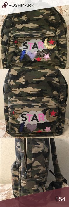 e1288250df75 Circus by Sam Edelman Camo Avery Backpack Only used once! Excellent  condition