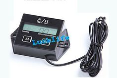 5Pcs Hour meter Tachometer 2 & 4 Stroke Small Engine Spark For Boat Motorcycle H