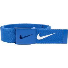 Men's Nike Golf Web Belt, Blue Other