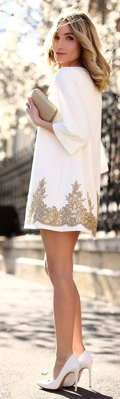 Magnolia Bloom Inspiration Dress