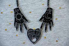 Will you dare to wear this? Open the door to the other side with this awesome necklace!  This paranormal inspired necklace is made of 3 pieces of