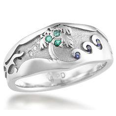 Beach Wedding Ring 1