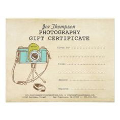 gift certificate templates gift certificate templates gift certificates photography gifts photography business