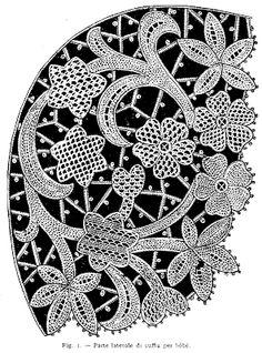 Italian Needlework: Venetian Needle Lace Baby Bonnet, of we nog ooit tijd hebben om zoiets te maken. ?