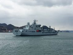RFA Tidespring,  arrives in Japan visiting on her delivery voyage to the UK (Photo via @binmei)