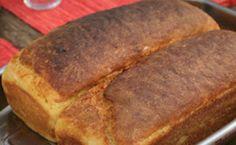 Pão de milho caseiro do Rodrigo Hilbert