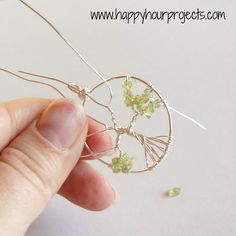 Wire tree of life Tree Of Life Necklace, Tree Of Life Pendant, Wire Jewelry, Jewelry Art, Diy Jewellery, Beady Eye, Tree Of Life Jewelry, Wire Trees, Wire Pendant