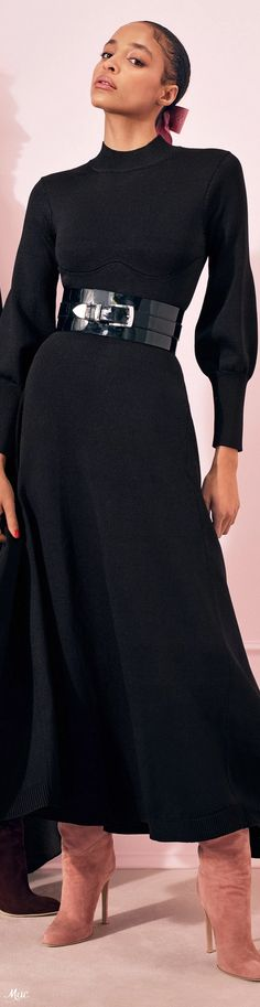 Pre-Fall 2020 Brandon Maxwell - 2020 Fashions Woman's and Man's Trends 2020 Jewelry trends Daily Fashion, Fashion Show, Fashion Design, 2020 Fashion Trends, Fashion Brands, Brandon Maxwell, Black White Fashion, Autumn Fashion, Women Wear