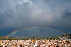 Me encanta Murcia  ARCO IRIS EN LA SIERRA DE ASCOY CIEZA Foto de Fernando Galindo Tormo