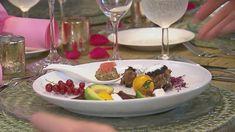 Rezept: Rote-Beete-Avocado-Salat / Marokkanische Hackbällchen / Feta-Praline