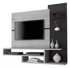 Trendy modern furniture design tv walls home decor 54 ideas Living Room Tv Unit Designs, Living Room Wall Units, Tv Unit Decor, Tv Wall Decor, Tv Unit Furniture, Furniture Design, Modern Furniture, Tv Wanddekor, Tv Wall Cabinets
