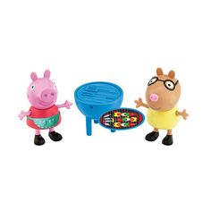Fisher-Price Peppa Pig 2-Pack Figures - Peppa Pig & Pedro Pony BBQ ...