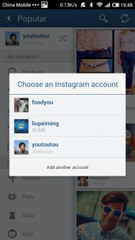 Video on how to manage multiple instagram accounts