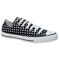 Polka dot All Star. All Star de bolinhas. Lindo <3
