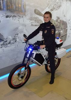 Russian Police-Spec Electric Bikes