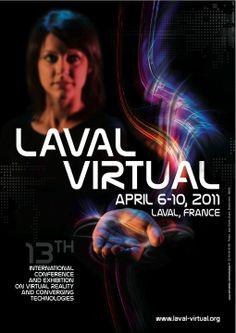 Affiche Laval Virtual 2011