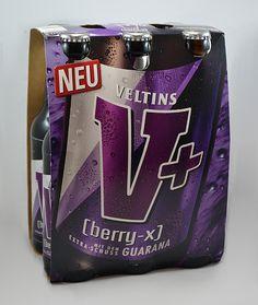 """Kennt ihr schon die neue Veltins V+ Sorte """"Berry X""""? --- Es wird sie bald im Handel zu kaufen geben. Bei uns findet ihr einen Produkttest vorab: www.produkttest-welt.de"""