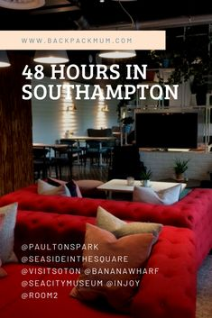 Our cultural adventure in Southampton and beautiful stay with Southampton! Mum Blogs, Peppa Pig World, Modern Buffet, Wild Forest, City Museum, Southampton, Family Activities, Backpack
