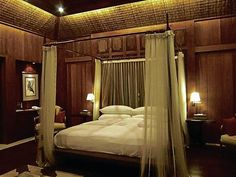 Image detail for -ELEGANTLY traditional Filipino bedroom interiors at The Farm in San . Filipino Interior Design, Asian Interior, Luxury Interior, Bamboo Architecture, Interior Architecture, Tropical Architecture, Filipino House, Lanscape Design, Off Grid House