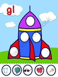 Rocket Blends from Learning Land on TeachersNotebook.com -  (22 pages)  - A sorting activity so the littlies can learn, practise and consolidate words with blends