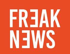 "Check out new work on my @Behance portfolio: ""Freak News"" http://be.net/gallery/45759265/Freak-News"
