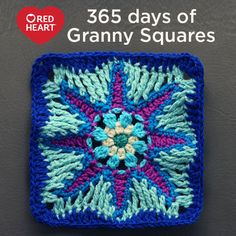365 Days of Granny Squares with Nadia Fuad -- Nadia Fuad of YARNutopia is one of our newer Joy Creators. When we found out she was making a granny square for each day in 2016 — 365 Days of Granny Squares — we had to find out more! Below is a Q&A we did with Nadia.