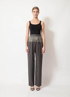 Balenciaga | F/W 2012 Metallic Trousers | RESEE