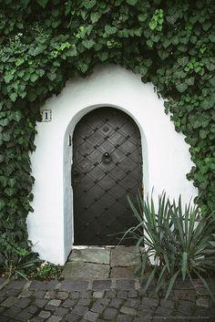 Door in Szentendre, Hungary by Dmitri Korobtsov, via Flickr
