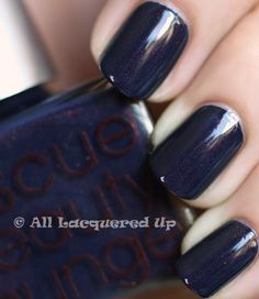 Rescue Beauty Lounge - Piu Mosso... one of the few blue nail polishes I might actually wear!