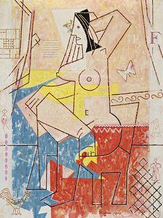 Risultati immagini per ludovit fulla Abstract, Gallery, Illustration, Artwork, Nostalgia, Painting, Artists, Tela, Summary