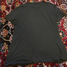 T-shirt Dress Charcoal gray t-shirt dress. Fits a small best. In excellent condition. Wear with ankle boots. Free People Dresses Mini