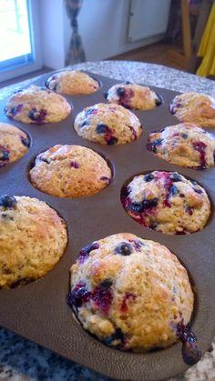 Zdravě i nezdravě: Rybízové muffiny