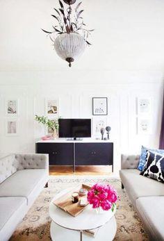 Simple cozy living room