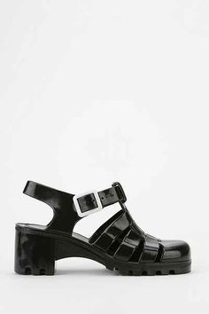 JuJu Footwear Babe Jelly Heeled Sandal - Urban Outfitters  I need these now and they don't have them in my size :(