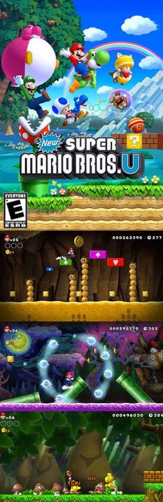 In New #SuperMario Bros U you can play up to 5 players if you use the gamepad. #2Dplatformer http://www.levelgamingground.com/new-super-mario-bros-u-review.html